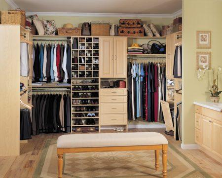 احدث اشكال موضة صور خزانات ملابس  (1)