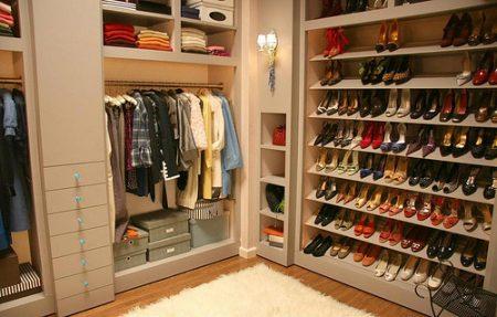 احدث اشكال موضة صور خزانات ملابس  (3)