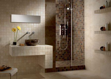 احدث افكار تزيين حمامات شيك حديثة مودرن (4)