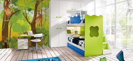 احدث الوان واشكال ورق جدران غرف الاطفال (4)