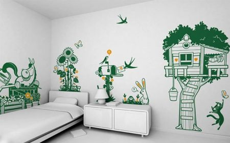 احدث ورق حائط لغرف الاطفال (1)