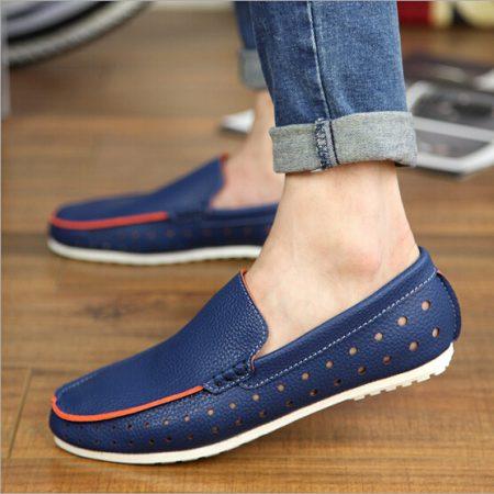 احذية شبابية زرقاء وكحلي (5)