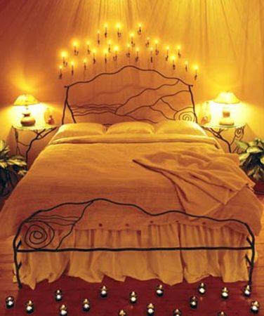 افكار لتزيين غرفة النوم (1)