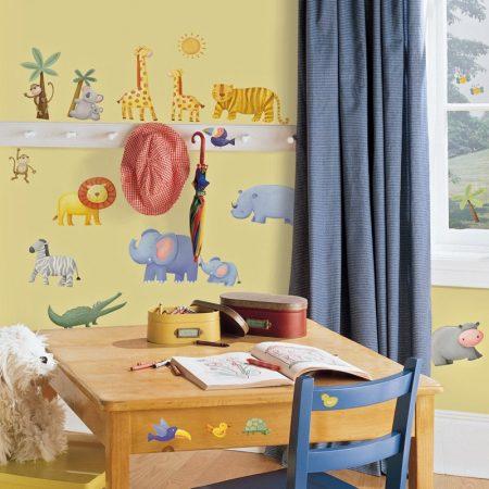 اوراق حائط غرف اطفال (3)