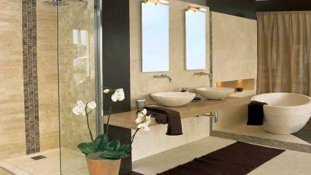 ديكورات حمامات شيك (1)