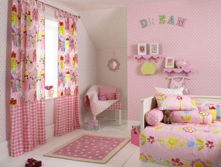 ستائر غرف بنات (4)