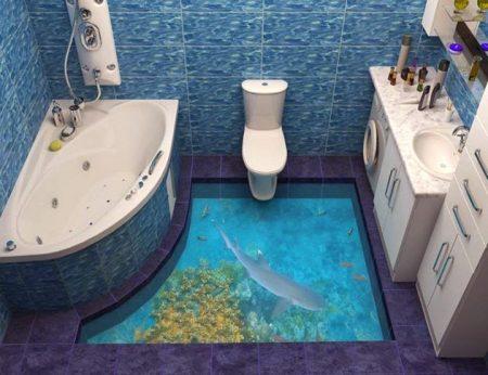 سيراميك حمامات ثلاثي الابعاد  (2)