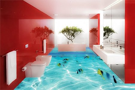 سيراميك حمامات ثلاثي الابعاد  (4)
