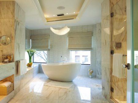صور ديكورات وافكار لتزيين الحمامات المودرن (4)