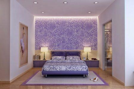 صور غرف نوم بنفسجيه (4)