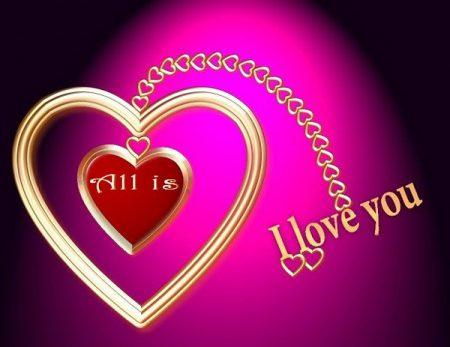 صور مكتوب عليها بحبك (4)