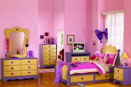 غرف باللون الموف (1)