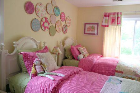 احدث الوان واشكال غرف نوم بنات (1)