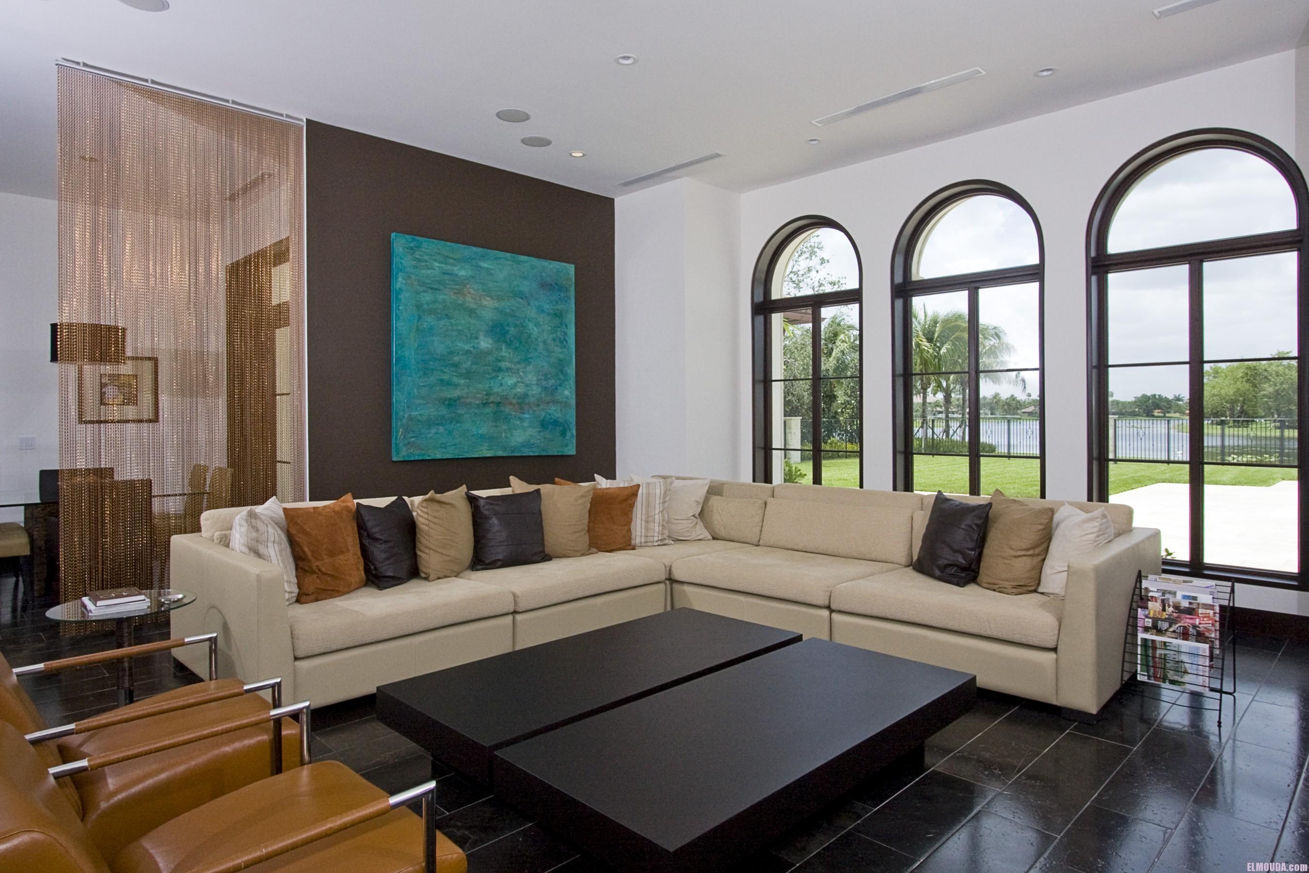 Modern Living Room Home Decorating Ideas: غرف جلوس مودرن بالصور ديكورات وتصاميم لغرفة الجلوس