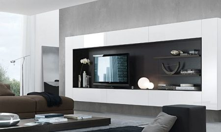 تصاميم مكتبات تلفزيون  (1)