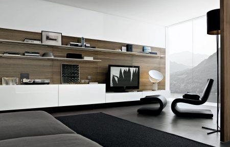 تصاميم مكتبات تلفزيون  (4)