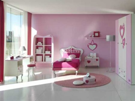 تصميمات غرف بنات (1)