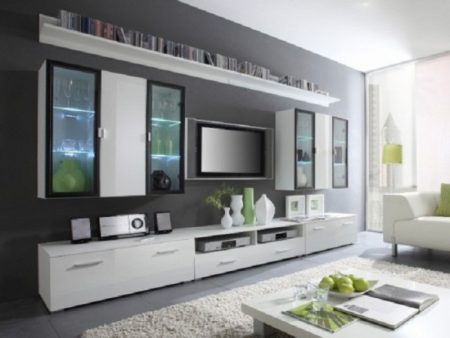 ديكورات حائط التلفاز  (2)