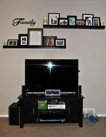 ديكور حائط التلفزيون