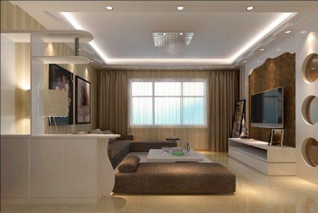 ديكور غرفة المعيشة  (2)