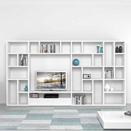 ديكور مكتبة تلفزيون  (3)