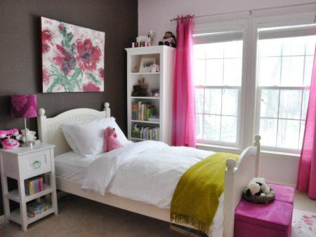صور ديكورات غرف بنات احدث كتالوج لألوان غرف البنات (1)