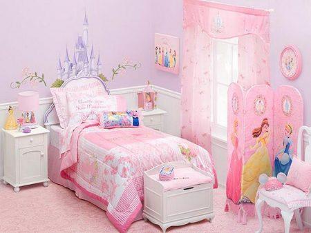 صور ديكورات غرف بنات احدث كتالوج لألوان غرف البنات (2)