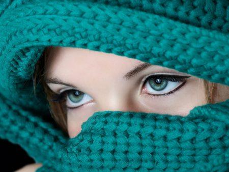 صور عيون زرقاء احلي رمزيات عيون اطفال باللون الازرق (1)