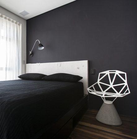 صور غرف نوم جديدة مودرن اسود (3)