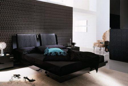 صور غرف نوم سوداء (3)