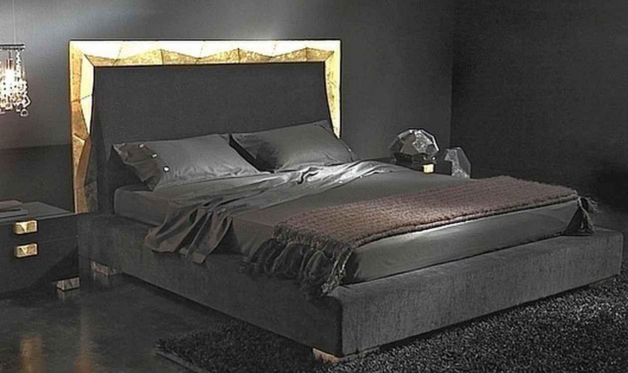 صور غرف نوم سوداء ديكورات غرف عرسان باللون الأسود ميكساتك