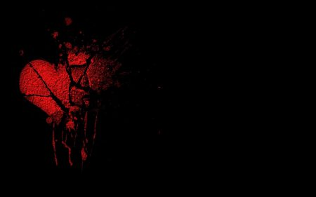 صور قلوب مجروحة وحزينة قلوب حب حمراء  (3)