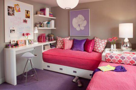 صور لتصميم غرف البنات (2)