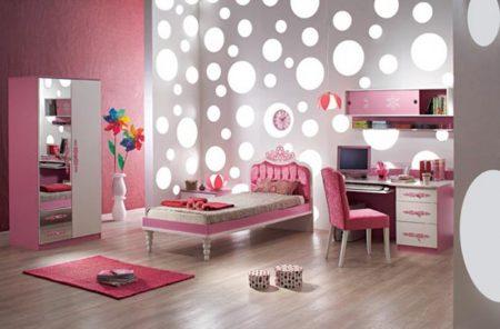 صور لتصميم غرف البنات (3)