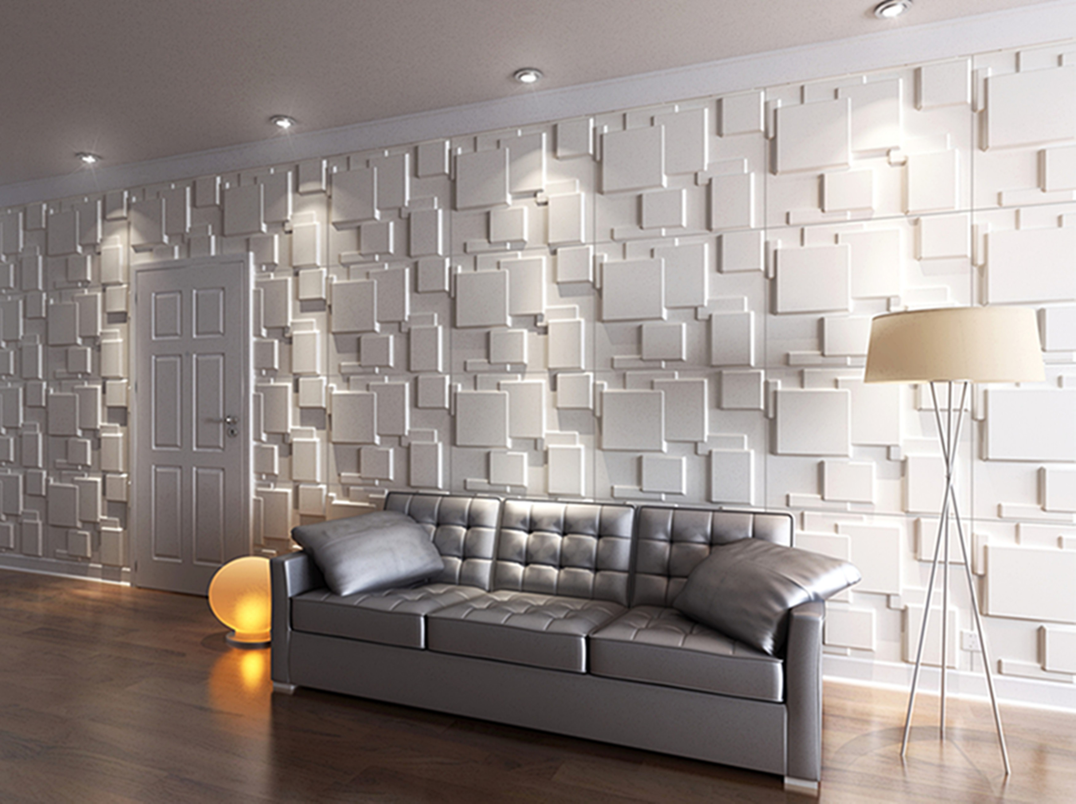 3d for 3d feature wallpaper