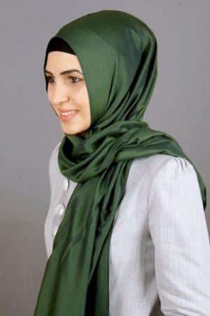 طرق لف الحجاب شيفون (3)