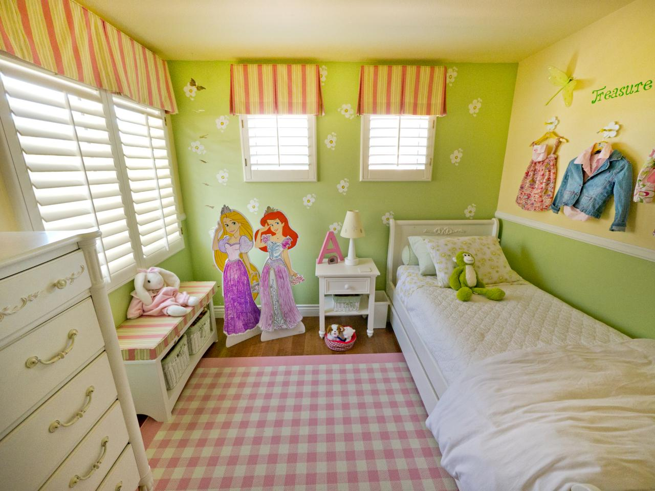 for 7 year girl bedroom ideas
