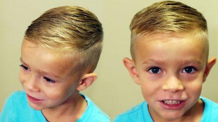 قصات شعر اطفال (4)