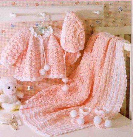 لبس كروشيه اطفال (2)