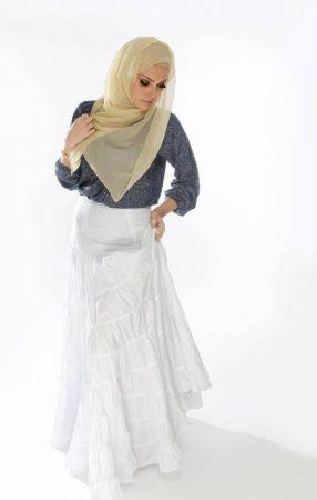 لفات طرح شيفون بأحدث لفات حجاب مودرن وجديدة (3)