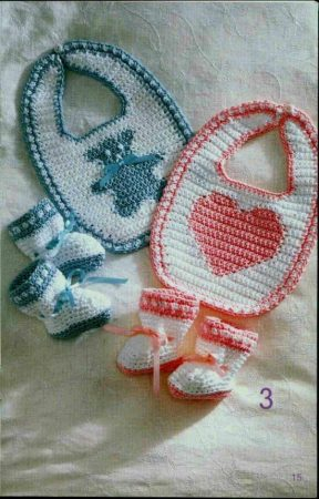 ملابس كروشيه للأطفال (1)