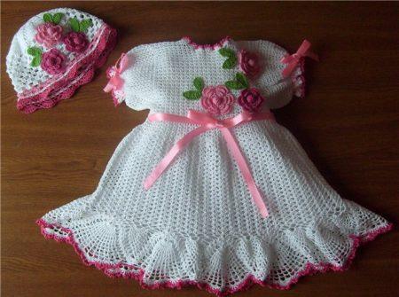 ملابس كروشيه للأطفال (2)