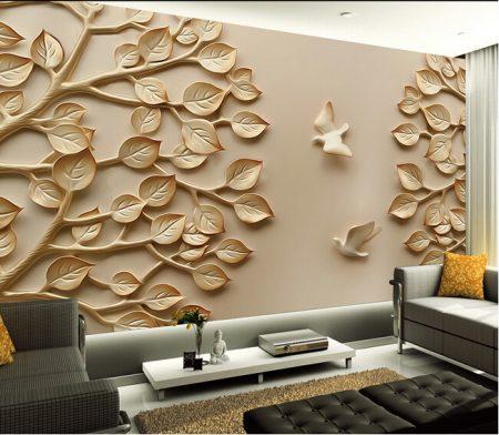 ورق جدران مجسم (4)