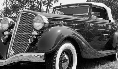 Hudson classic antique car