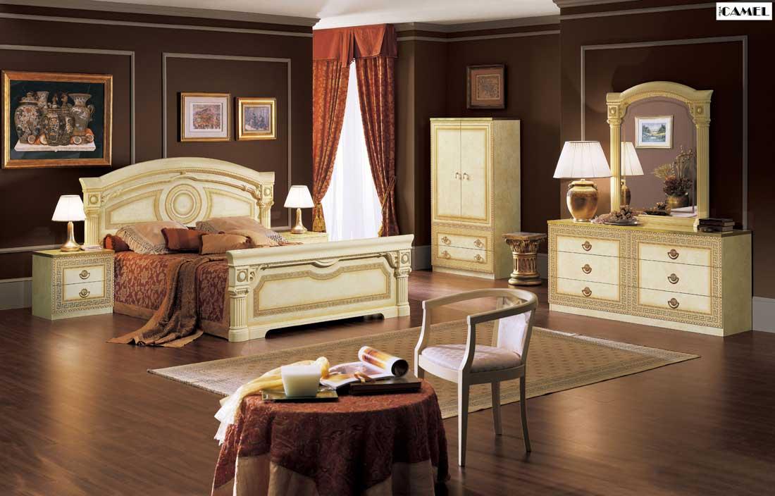 غرف نوم كلاسيك بديكورات فخمة لعشاق الكلاسيكيه ميكساتك