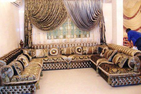 تصميمات واشكال صالونات مغربية (2)