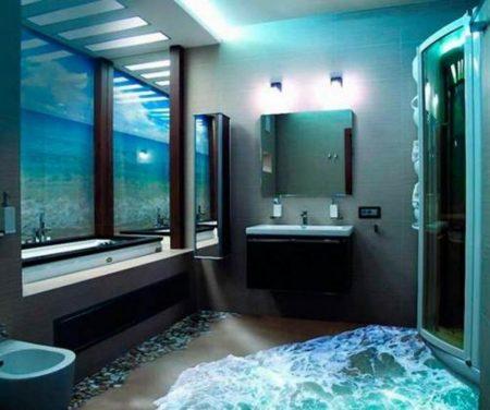 حمامات ثلاثية الابعاد (1)