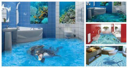 حمامات ثلاثية الابعاد (2)