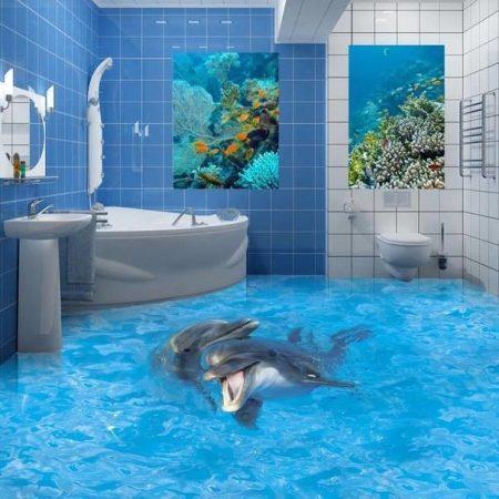 حمامات ثلاثية البعد مودرن باحدث موضة (1)