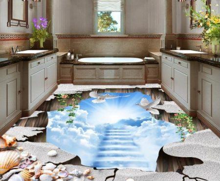 حمامات ثلاثية البعد مودرن باحدث موضة (2)